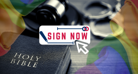 "Ask Bishop Stowe to recant support for anti-religious ""Equality Act"""